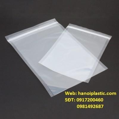 Túi zipper viền trắng